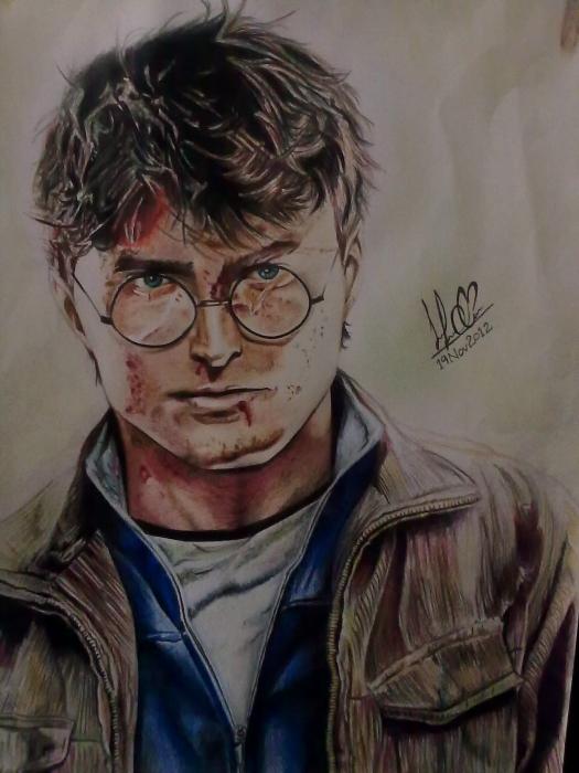 Daniel Radcliffe by Sahar